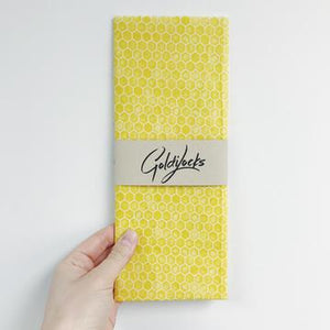 Honeycomb single beeswax wrap