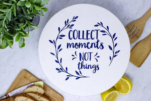 Collect moments- unwaxed large bowl cover