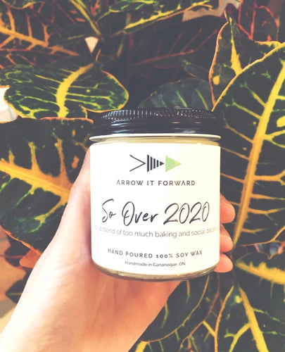 So over 2020 mini soy candle