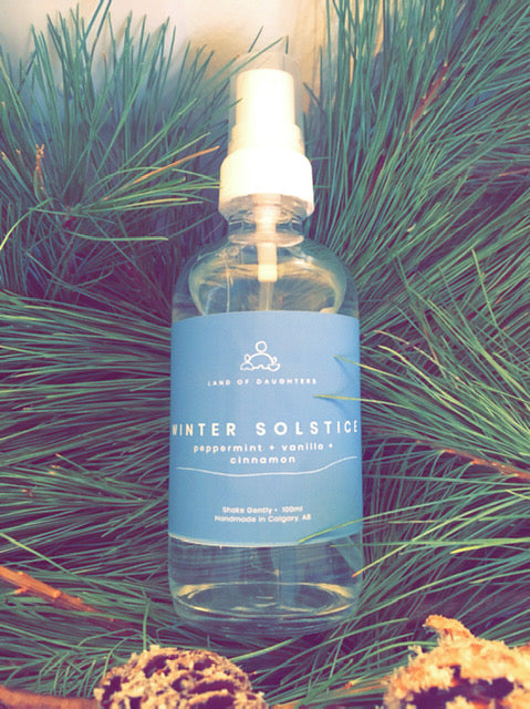 Winter Solstice aroma spray