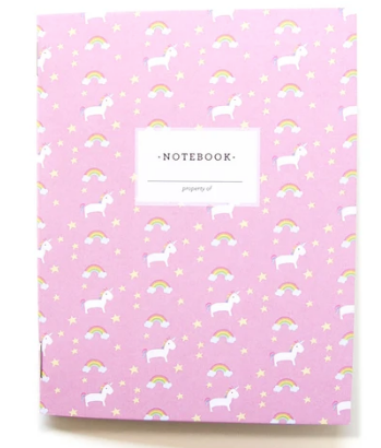 Unicorns & Rainbows pocketbook