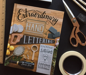 Extraordinary hand lettering book