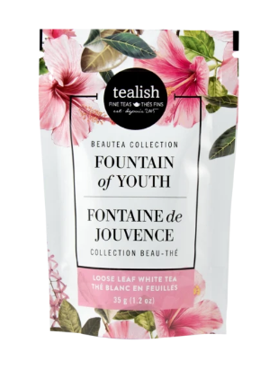 Fountain of Youth tea gift pouch