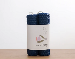 Blueberry pillar candles