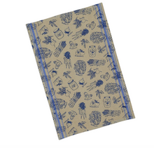 Load image into Gallery viewer, French blue market dishtowel