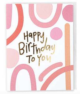 Mod Birthday card