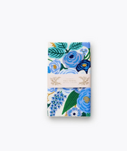 Load image into Gallery viewer, Garden Party Blue tea towel