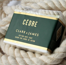 Load image into Gallery viewer, Cedre cotton rope soap