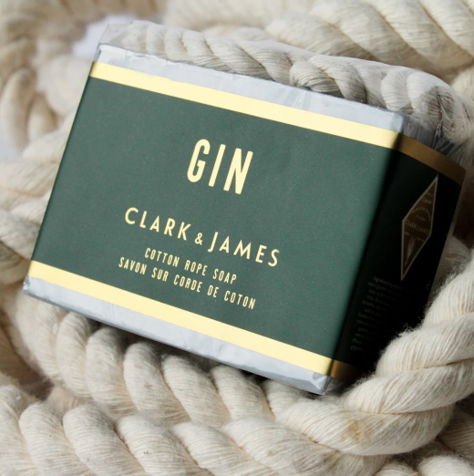 Gin cotton rope bar soap