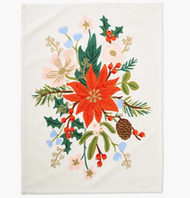 Load image into Gallery viewer, Holiday Bouquet Tea Towel