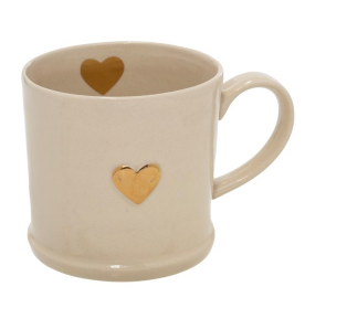Sweetheart gold mug