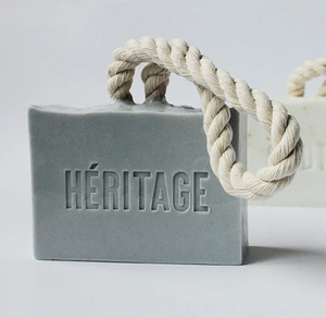 Heritage cotton rope bar soap