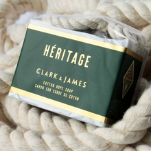 Load image into Gallery viewer, Heritage cotton rope bar soap