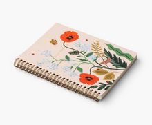 Load image into Gallery viewer, Iceland Poppy Spiral notebook