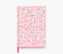 Load image into Gallery viewer, Moxie Pink fabric journal