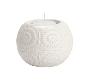 Embossed tealight holder
