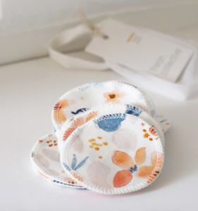 Fawn Florals Cotton Rounds