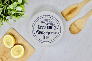 Plastic free small bowl cover unwaxed