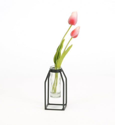 Small single tube vase
