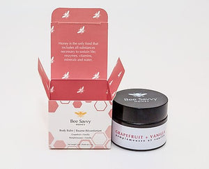 Grapefruit + Vanilla body balm