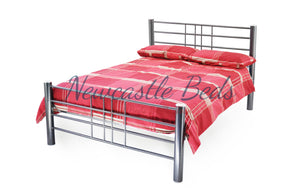 Cube Metal Bed