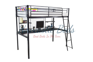 Bunk Bed with Study