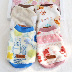 Snowflake Rabbit Radish Cotton Clothing For Dogs, Cat, OR Bunny