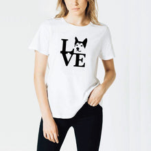 "Load image into Gallery viewer, ""Love"" Husky T Shirt"