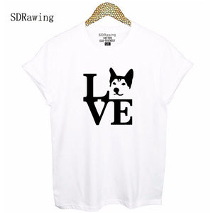 """Love"" Husky T Shirt"