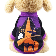 Load image into Gallery viewer, Cat Clothes Halloween Carnival Funny Pet Clothes Winter Jacket Dog Halloween Costume outfit for Small dogs Cats two feet clothes