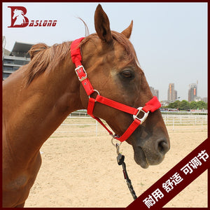 Anti friction,Adjustble Nylon Horse bridle