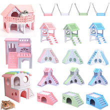 Load image into Gallery viewer, House Swing Toy;Slide;  Nest Loft Bed; Castle Climb Toy
