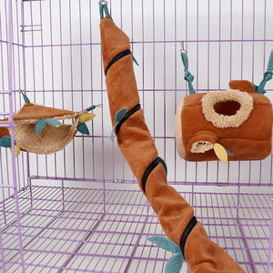 Exotic Pets Rope Hanging Sheet Cage