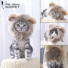 Load image into Gallery viewer, Hoopet Funny Lion Mane Wig Costume