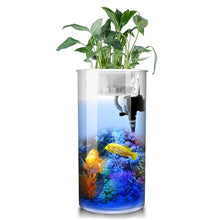Load image into Gallery viewer, Cylindrical Fish  Aquarium Small and Medium; Water-free Filter