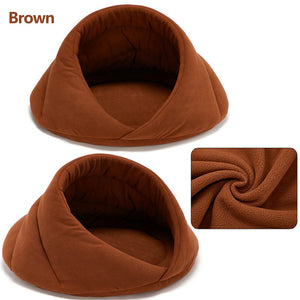 Warm Dog Bed Pet Dog House Soft Suitable Fleece Cat Dog Bed House for Dog Cushion Cat Sleeping Bag Nest High Quality 10c15
