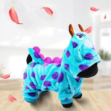 Load image into Gallery viewer, Flannel Cat/Dog Warm Outwear Cartoon Dragon