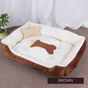 Washable Plush Rim Cushion and Nonslip Bottom