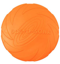 Load image into Gallery viewer, 2019 Best selling Pet toys New Large Dog Flying Discs Trainning Puppy Toy Rubber Fetch Flying Disc Frisby 15cm 18cm 22cm