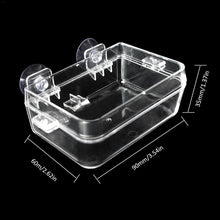 Load image into Gallery viewer, Acrylic Reptile Feeding Box Anti Escape Insect Box