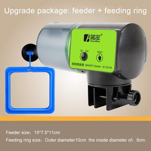 2 in 1 Manual and Smart Automatic Fish Feeder A