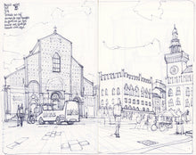 Load image into Gallery viewer, Main square sketch by Miguel Herranz.  Main image