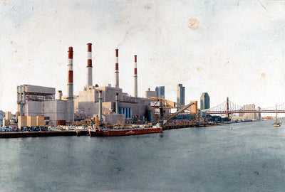 Ravenswood Generating Station by Carlos Arriaga.  Main image