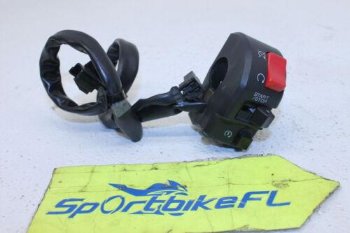 05-06 KAWASAKI NINJA ZX6R ZX636 636 RIGHT CLIP ON HANDLE KILL OFF START SWITCH