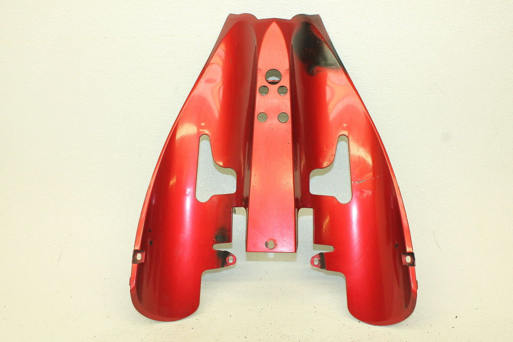 04-06 YAMAHA R1 YZFR1 R-1 1000 RED REAR BACK TAIL UNDERTAIL FAIRING COWL FENDER