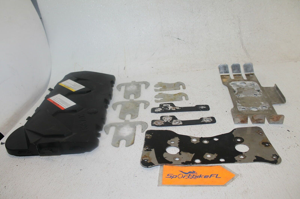 2009 SEA-DOO RXT 255 IS JET SKI ENGINE MOTOR GASKET KIT COVER REAR VENTILATION