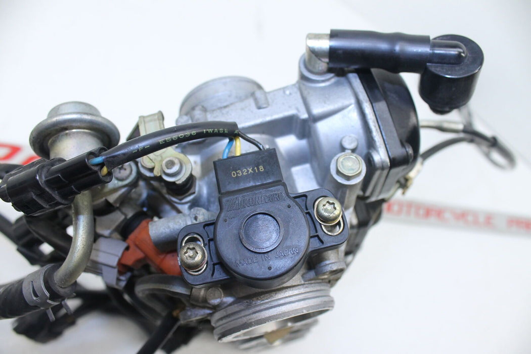 02-03 YAMAHA YZF-R1 YZF R-1 1000 CARBS CARBURETORS SET THROTTLE INJECTION FUEL
