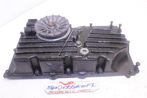 1998 TRIUMPH SPRINT SS 98 OEM ENGINE MOTOR BOTTOM OIL PAN COVER CASE FILTER BOLT