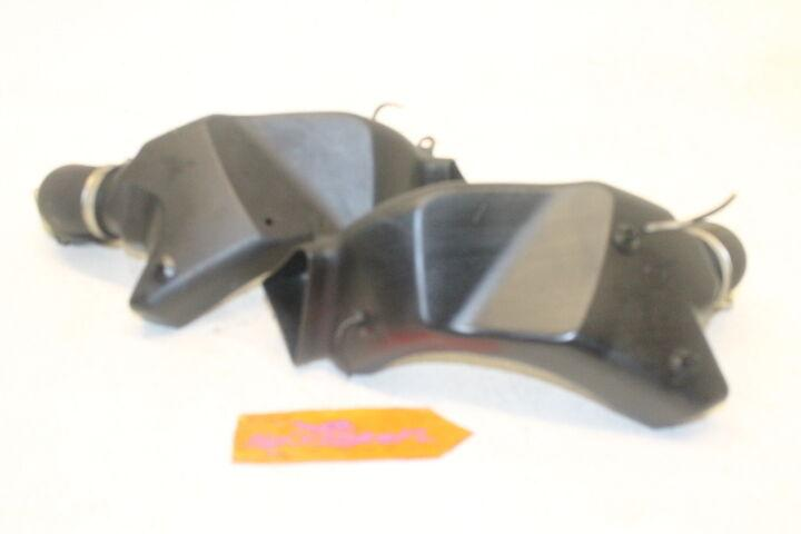 06-11 KAWASAKI NINJA ZX14 ZX14R OEM RIGHT LEFT AIR CLEANER INTAKE DUCTS DUCT 08