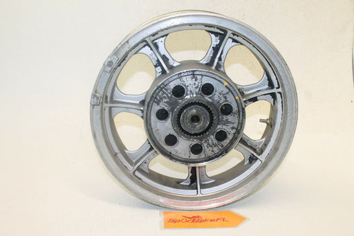 "1985 KAWASAKI VULCAN 700 VN700A OEM REAR BACK WHEEL RIM TIRE 15"" X 3.50"